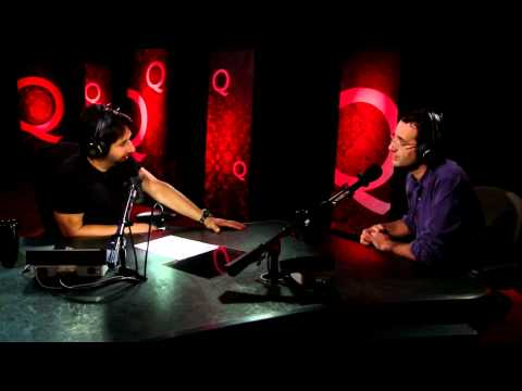 Radiolab host Jad Abumrad in Studio Q