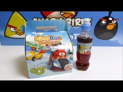 Angry Birds Burger King KingBox Angry Birds GO Red Bird Toys