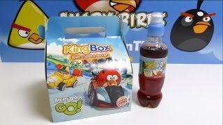 Angry Birds Burger King KingBox Angry Birds GO Red Bird Toys