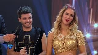 Agustín Casanova Y Flor Vigna Festejaron Su Debut Como Pareja En Bailando