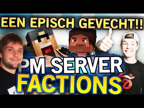 EPISCH GEVECHT!! Met Enzo & Simoontje! - PM Factions