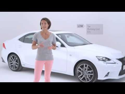 Discover the Lexus IS with Amanda Stretton