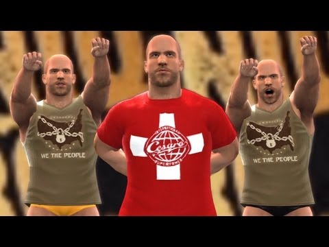 WWE '13 Community Showcase: Antonio Cesaro (PlayStation 3)