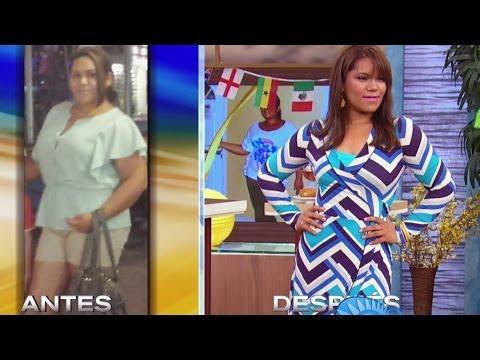 Ella logró bajar 60 libras y 9 tallas gracias a Alejandro Chabán