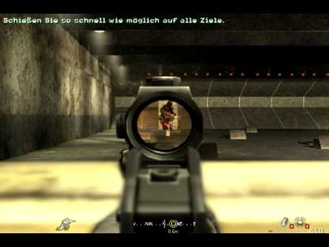 "call of duty 4 mw1 Mission 1 ""Der Neue"" [Deutsch]"