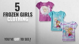 Top 10 Frozen Girls Clothing [2018]: Disney Little Girls' Toddler 3 Pack Frozen T-Shirts, Purple,