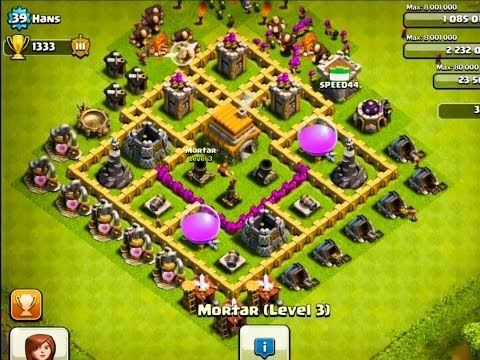 The 2 BEST Defense Bases for Town Hall Level 6 - Clash Of Clans