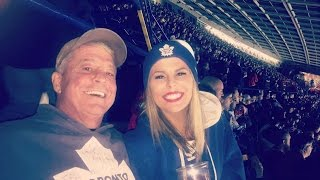 Daughter Surprises Dad With Ice Hockey Tickets