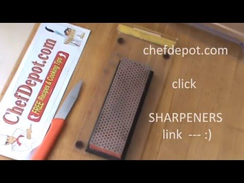 dmt diamond sharpening stone review