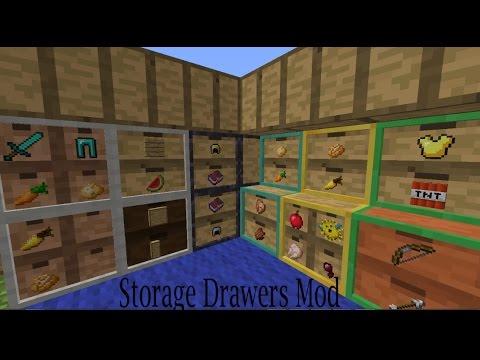 Minecraft Storage Drawers Mod