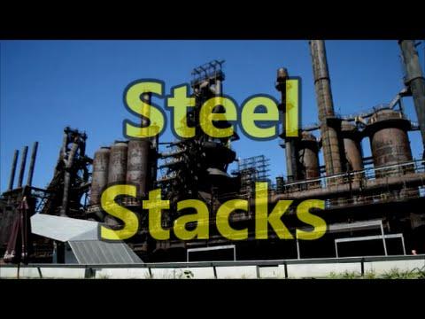 Steel Stacks - Abandoned Steel Plant