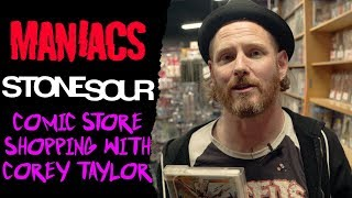 Comic Store Shopping With Corey Taylor