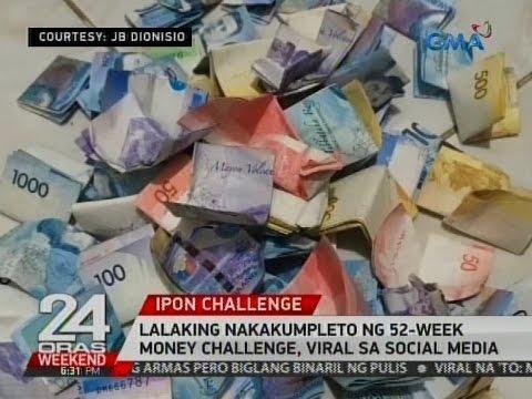 lalaking nakakumpleto ng 52 week money challenge, viral sa
