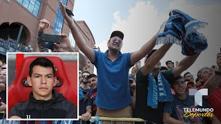 La increble similitud entre el Chucky Lozano y Maradona | Telemundo Deportes
