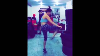 Urvashi Rautela Workout In Gym Video