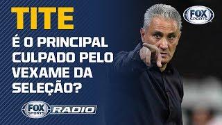 SAMPAOLI POR TITE? FOXSports Rádio debate sobre o desempenho do treinador pela Seleção Brasileira