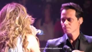 Jennifer Lopez Marc Anthony No Me Ames Dance Again Tour Puerto Rico 21 12 12
