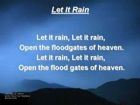 Let It Rain (original) video
