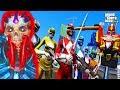 GTA 5 Mod - Quái Vật Tàn Sát 5 Anh Em Siêu Nhân | Big Bang thumbnail