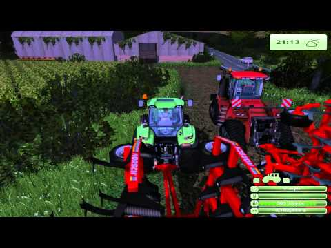 Farm Sim Saturday corn  and modding