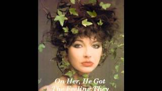 Kate Bush - Babooshka Lyrics