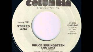Bruce Springsteen - Fade Away