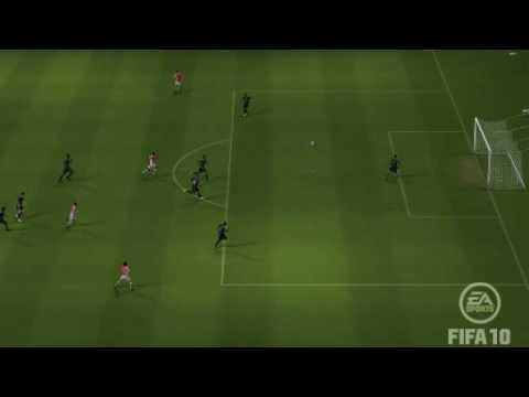 Fabregas 40 yard fifa goal Video