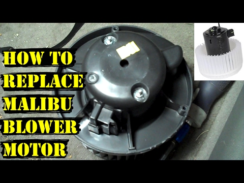 How to Replace a 2008-2012 Chevy Malibu A/C Heater Fan Blower Motor