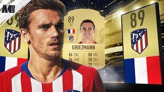 FIFA 19 GRIEZMANN REVIEW | 89 GRIEZMANN PLAYER REVIEW | FIFA 19 ULTIMATE TEAM