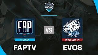 FAPTV vs EVOS - ESL Clash Of Nations 2019 - Garena Liên Quân Mobile