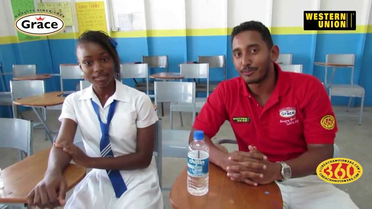 Grace Champs Tour - Hydel High - YouTube