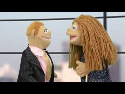Fat Cat News - the Puppet Show: Our news anchors meet Sir Felix Gross