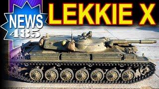 Nowe lekkie czołgi X poziomu - NEWS - World of Tanks