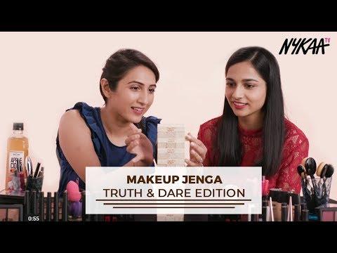 Makeup Jenga | Truth & Dare Edition | Filter Copy