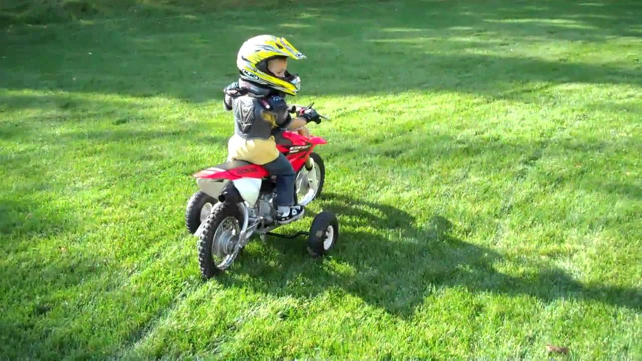 Dirt Bikes For A 4 Year Old year old riding a crf dirt