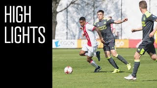 Highlights Ajax O19 - PSV O19