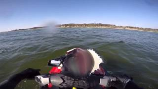 Seadoo Rxpx 260 rs 2014 test ride After small mods