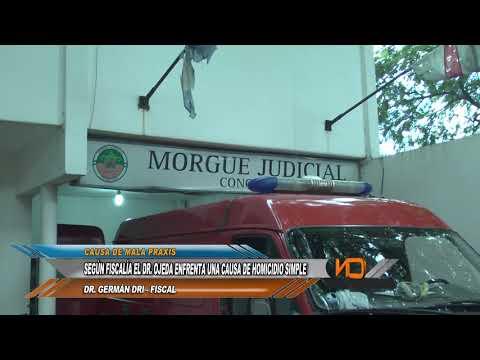 El Fiscal Nuñez pidió la prisión preventiva para el Dr. Daniel Ojeda por entender que intentó entorpecer la investigación.