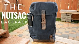 NutSac RuckSac Backpack Review 2019   High Quality Minimalist Tech Travel Backpack