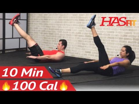 10 Min Lower Ab Workout for Women & Men