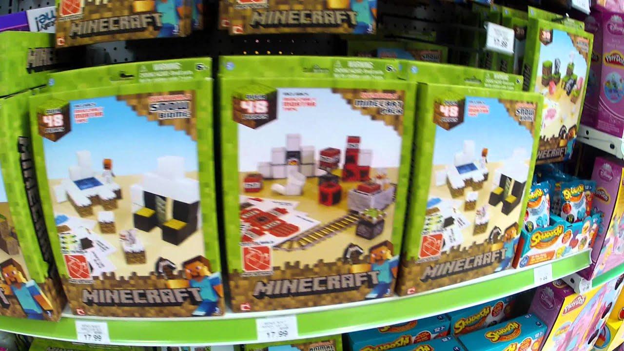 minecraft paper craft sets