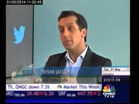 Lok Sabha polls India's 1st twitter elections: Rishi Jaitly -  Part 1