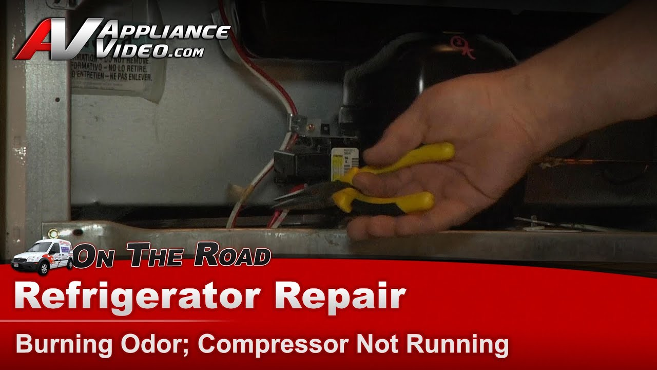 Refrigerator repair diagnostic not cooling compressor for Ge refrigerator condenser fan motor not working