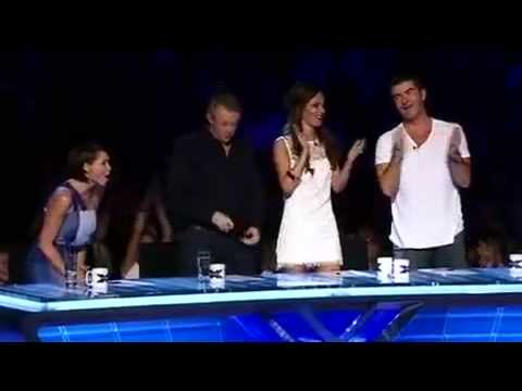 Danyl Jonson (X Factor) First Audition - A Little Help from My Friends Music Videos