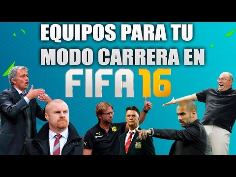 FIFA 16: 10 equipos para tu Modo Carrera