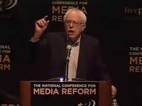Sen. Bernie Sanders at the NCMR 2007