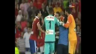 Ahly vs Zamalek riots between players at Super Cup