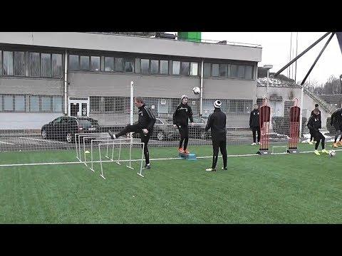 Tři fanoušci si zatrénovali s Votroky