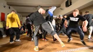 Ćwierćfinał M1 Dance Battle / Radom / Zames Crew vs Warsaw Steez