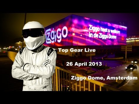 Top Gear Live highlights, Ziggo Dome, Amsterdam [26 April 2013] (1080p HD)